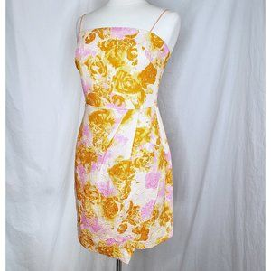 ASOS Pink/Orange Strappy Party dress